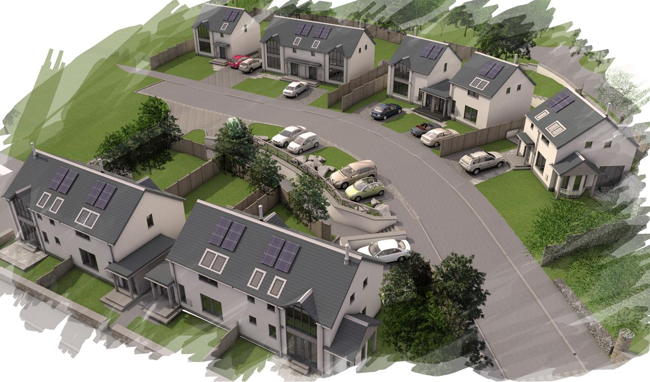 New Eco-friendly Developemt, Elsrickle, Biggar